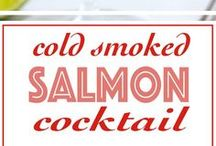 Smoke Salmon Starters