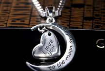 """FREE """"I Love You To The Moon And Back"""" Necklace - Just Pay Shipping!"""