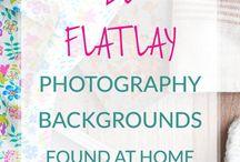 Flat lay Photography Idea