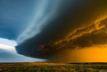 Orages, ouragans