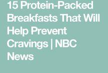 Protein breakfasts
