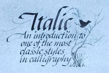 Calligraphy: Chancery