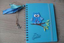 quaderno gufetto