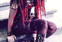 Gothspiration / Goth, Punk and Cyber Punk Fashion Inspiration