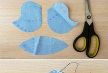 fabric doll diy