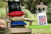 Outdoor Pillows / The crazy colored, pretty patterned, must have home essential, Pillows!