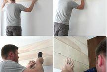 Siding + Plank Wall