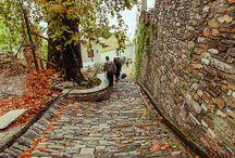 Makrinitsa village Pelion