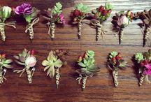 Alecrim_Lapelas / Lapelas desenvolvidas pela Alecrim Design Floral