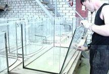 Склейка аквариума
