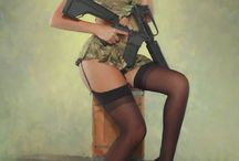 Fasiangy - army hot pin up