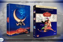 Disney Blu Ray Prestige Collection / Concept Art d'une collection de Blu Ray prestige des grands classiques d'animations Disney