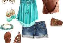 Outfits / by Brooke Fisher