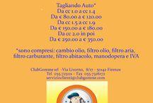 CLUBGOMME SRL / a disposizione per consigli e preventivi per la Vostra Auto!!!