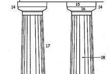 column / Doric, Tuscan, Ionic, Corinthian, Composite, Solomonic
