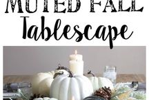 Fall Hostess Inspiration. / All things fall, halloween, and thanksgiving!