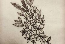 Diseños de plantas y flores