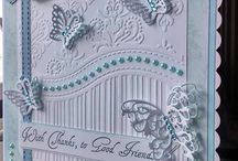 All occasion embossing folder and stamps card