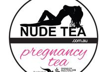 """Pregnancy Tea / """"Our crowd favourite pregnancy tea, raspberry leaf, nettle leaf, rose hip, lavender, lemon balm, and alfalfa powder, specially blended for the well-being of mum and bub!"""""""