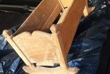 Culla di legno