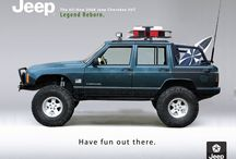 Jeep Company Photos / Photos from the Jeep website on the newest and older featured Jeeps.