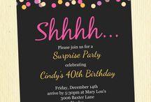suprise party ideas