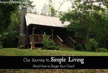 Simple Living / by Elizabeth Montoya