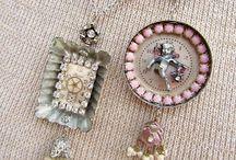 Vintage Jewelry Repurposed