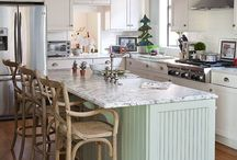 Cottage Kitchen Design Ideas / Regardless if you actually own a cottage or want to create a charming, country look we have decorating and design tips to help inspire your Cottage Kitchen Design.