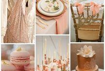 peach & Kupfer wedding