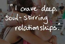 I crave...