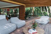 Lounge/mys poolmiljö