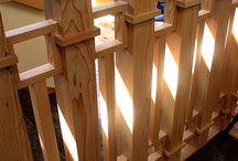 Loft hand rail