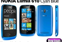Nokia Lumia 610 Cyan Blue Deals / Free Cyan Blue Nokia Lumia 610 contract deals at the cheapest pay monthly prices, best pay as you go deals and SIM free prices.