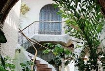 Stairs and Gardens