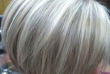 White hair dos!