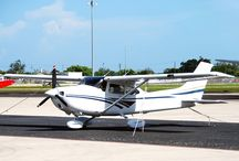 Aircrafts in Blue bird flight academy / Different type of Aircrafts for Pilot Training.