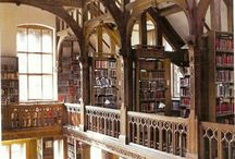 Libraries / Ancient, eccentric, friendly and functional, private and public ...everywhere.