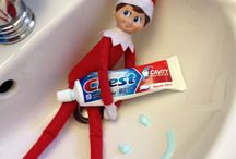 Elf on the shelf ideas / by Toni Wysong