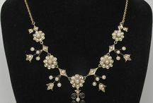 Antique Pendants/Necklaces / Enjoy a browse through some superb antique seed pearl necklaces. You won't find these in any of today's modern shops but you will find them at Divine Finds Jewelry at Ruby Lane: http://www.rubylane.com/shop/divinefind