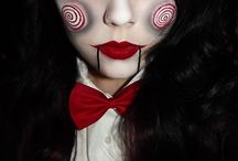 Halloween ideas!  / Costumes. Make up. Accessories