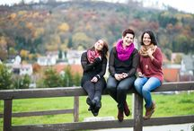 Fotoshoot mit Schwestern