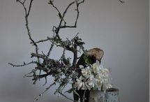 an artistic flower arrangement