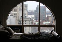 cities / tiny apartments + the novelties of the city life