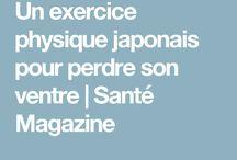 Exercice japonais