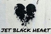 ❤jet black heart❤
