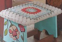Pintura y Crochet / deco casa