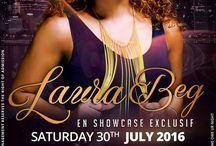Laura Beg En Showcase Exclusif / Laura Beg En Showcase Exclusif Pour La Premiere Fois Au Queen's Club .