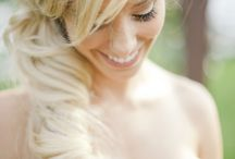 bruidskapsels ideeën / trouwdag