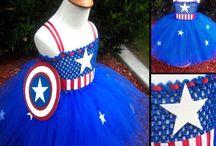 Crochet Carnaval Dress